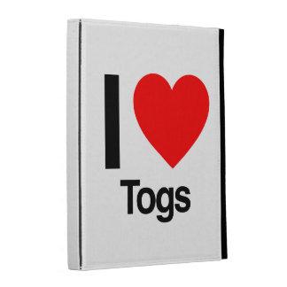 i love togs iPad folio case