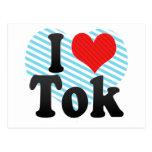 I Love Tok Postcard
