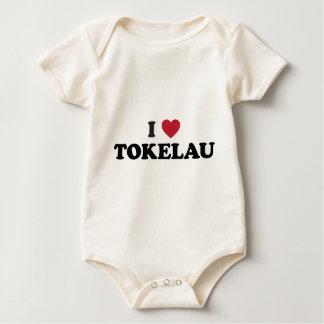 I Love Tokelau Baby Bodysuit