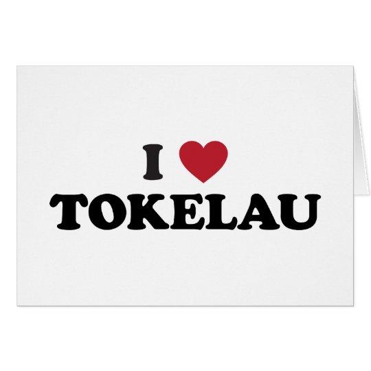 I Love Tokelau Card