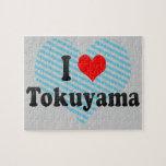 I Love Tokuyama, Japan Jigsaw Puzzles