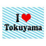I Love Tokuyama, Japan Post Card