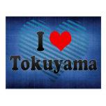 I Love Tokuyama, Japan Postcards