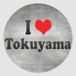I Love Tokuyama, Japan Sticker