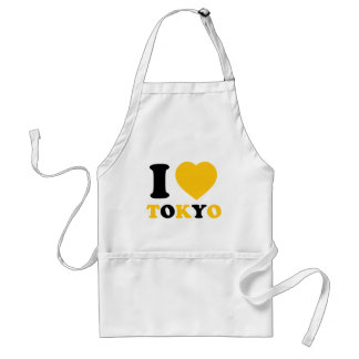 I Love Tokyo Adult Apron