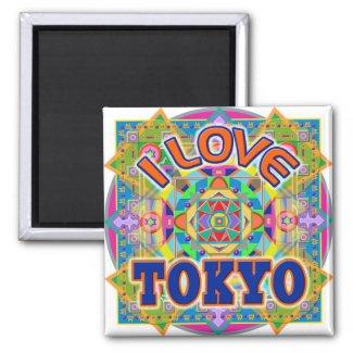 I LOVE TOKYO Happy Magnet