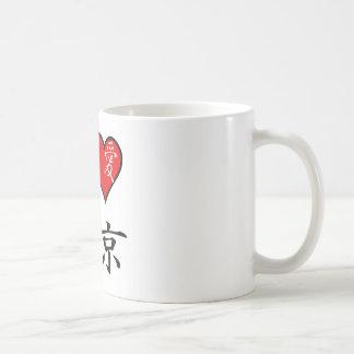 I Love Tokyo Coffee Mugs