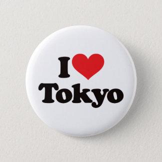 I Love Tokyo Pinback Button
