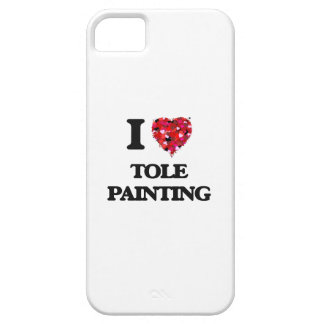 I Love Tole Painting iPhone 5 Cover