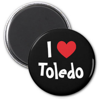 I Love Toledo Magnet