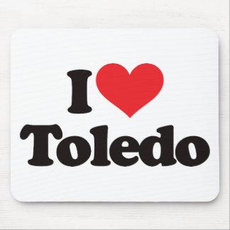 I Love Toledo Mouse Pad