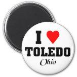 I love Toledo, Ohio Magnets