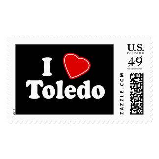 I Love Toledo Stamps