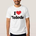 I Love Toledo T Shirts