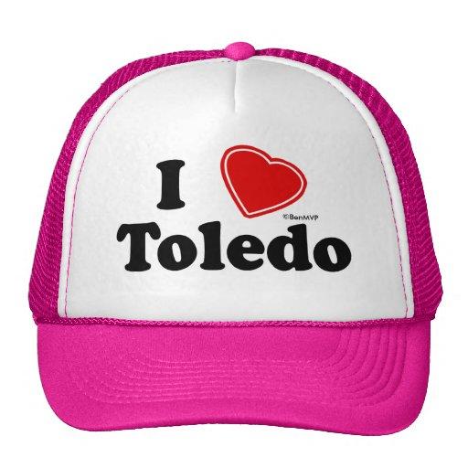 I Love Toledo Trucker Hat