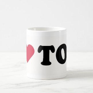 I LOVE TOM COFFEE MUG