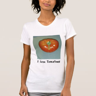 I Love Tomatoes And Chili Peppers T-Shirt
