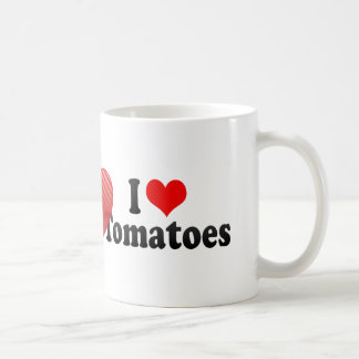 I Love Tomatoes Coffee Mug