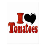 I Love Tomatoes Post Cards