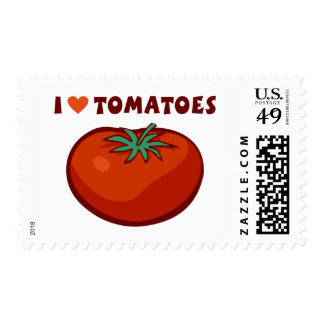 I Love Tomatoes Postage