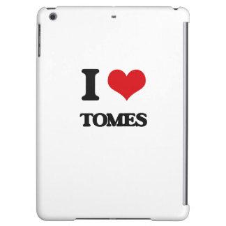 I love Tomes iPad Air Covers