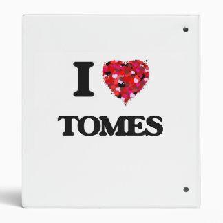 I love Tomes Vinyl Binder