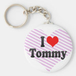 I love Tommy Key Chains