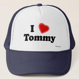 I Love Tommy Trucker Hat
