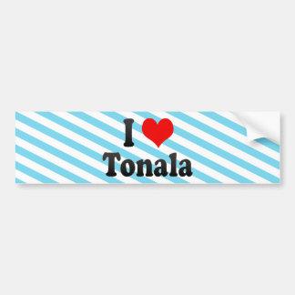 I Love Tonala, Mexico. Me Encanta Tonala, Mexico Bumper Stickers