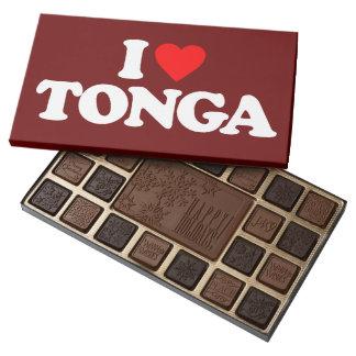 I LOVE TONGA 45 PIECE BOX OF CHOCOLATES