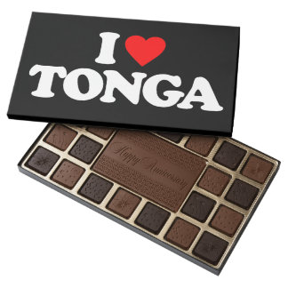 I LOVE TONGA ASSORTED CHOCOLATES