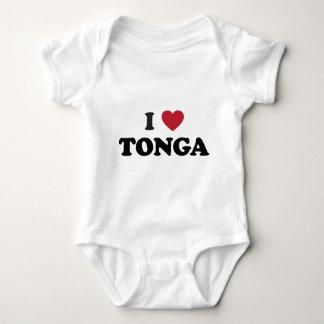 I Love Tonga Baby Bodysuit