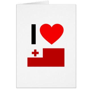 i love tonga cards