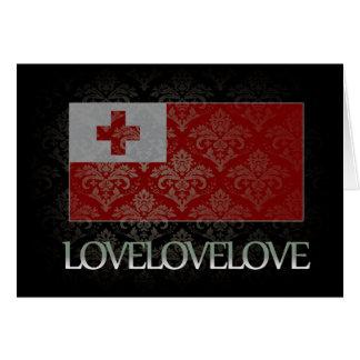 I love Tonga Cool Greeting Card