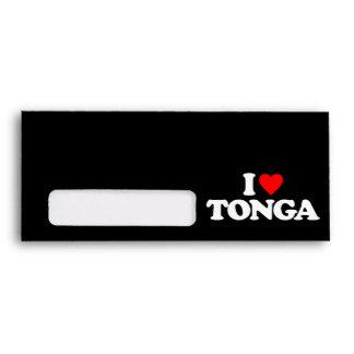 I LOVE TONGA ENVELOPE