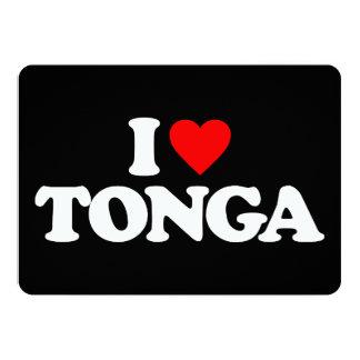 I LOVE TONGA INVITE
