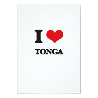I Love Tonga Custom Invite