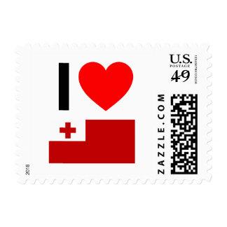 i love tonga postage stamps