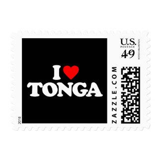 I LOVE TONGA STAMPS