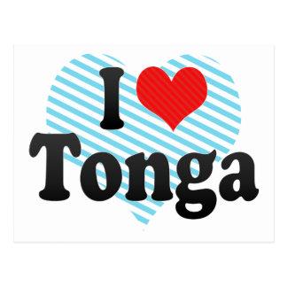 I Love Tonga Postcards