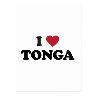 I Love Tonga Post Card