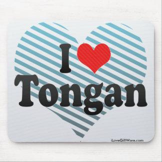 I Love Tongan Mouse Pad