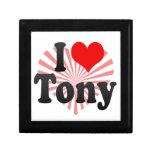 I love Tony Trinket Box