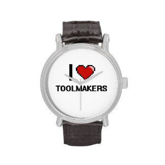 I love Toolmakers Wristwatches