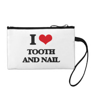 I love Tooth And Nail Change Purses
