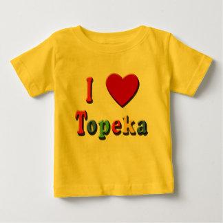 I Love TOPEKA Tshirts, Travel Mugs, Cool Stuff Baby T-Shirt