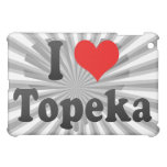 I Love Topeka, United States Cover For The iPad Mini