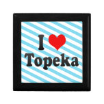I Love Topeka, United States Keepsake Boxes