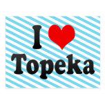 I Love Topeka, United States Post Cards