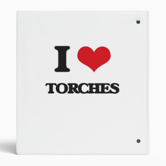 I love Torches 3 Ring Binders